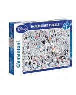 Clementoni Puzzel Impossible 1000st  Disney – 101 Dalmatians