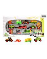 Tractor speelset Deluxe