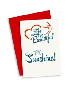 Wenskaart Hello Sunshine!