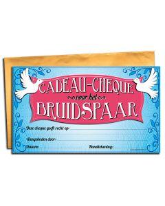 Cadeau-cheque voor het Bruidspaar
