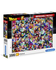 Clementoni Puzzel Impossible 1000st  Dragon Ball