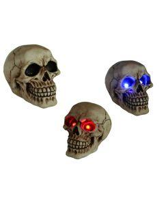 Skull met led ogen