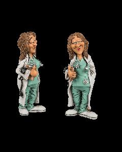 Funny figures- vrouwelijke arts