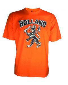 Oranje t-shirt Holland leeuw