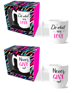 Mokkenset Do what you love/Never give up!
