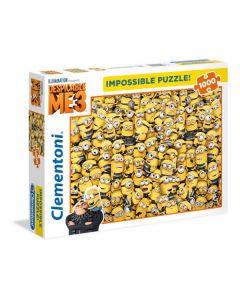 Clementoni Puzzel Impossible 1000st Despicable Me 3