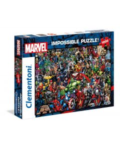 Clementoni Puzzel Impossible 1000st Marvel