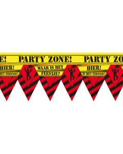 Party tape Waar is het feestje
