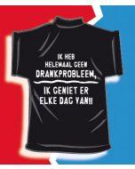 Mini T-shirt Drankprobleem