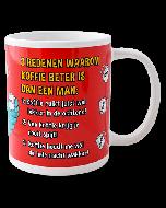 Funny mok Koffie beter dan man