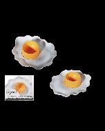 Set van 2 eierdopjes spiegelei