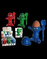 Set van 3 eierdopjes