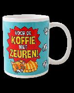 Funny mok Voor de koffie niet zeuren!