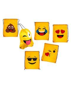 Rugtasje Kiss Emoticon