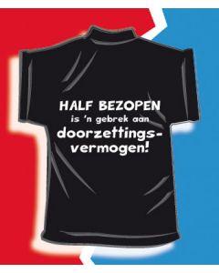 Mini T-shirt Half bezopen