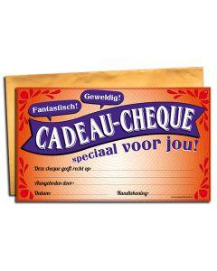 Cadeau-cheque Speciaal voor jou!