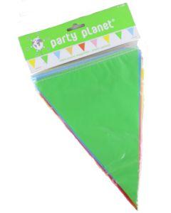 Veelkleurige vlaggenlijn 10m