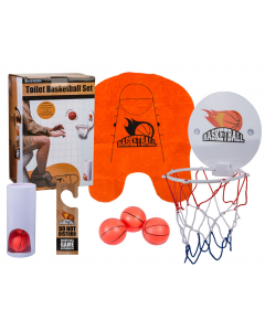 Toilet basketbalset (verpakking beschadigd)