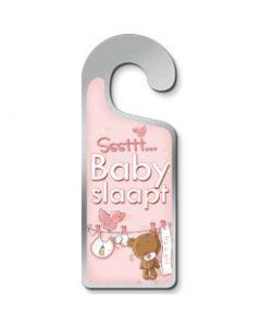 Deurhanger Sssttt Baby slaapt - it's a girl