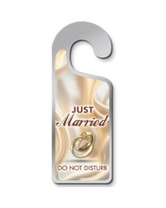 Deurhanger Just married- do not disturb
