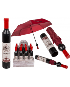 Paraplu wijnfles