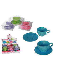 Cupcake bakvormen (set van 4)