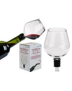 Wijnglas voor op de fles