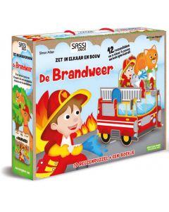 De brandweer boek met puzzel
