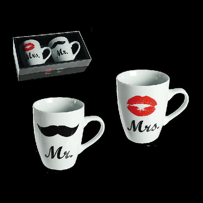 Mr. en Mrs. Mokkenset